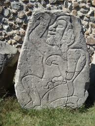 Olmec dancer, Monte Albán