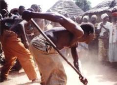 Retiro personal en Burkina Faso, África.