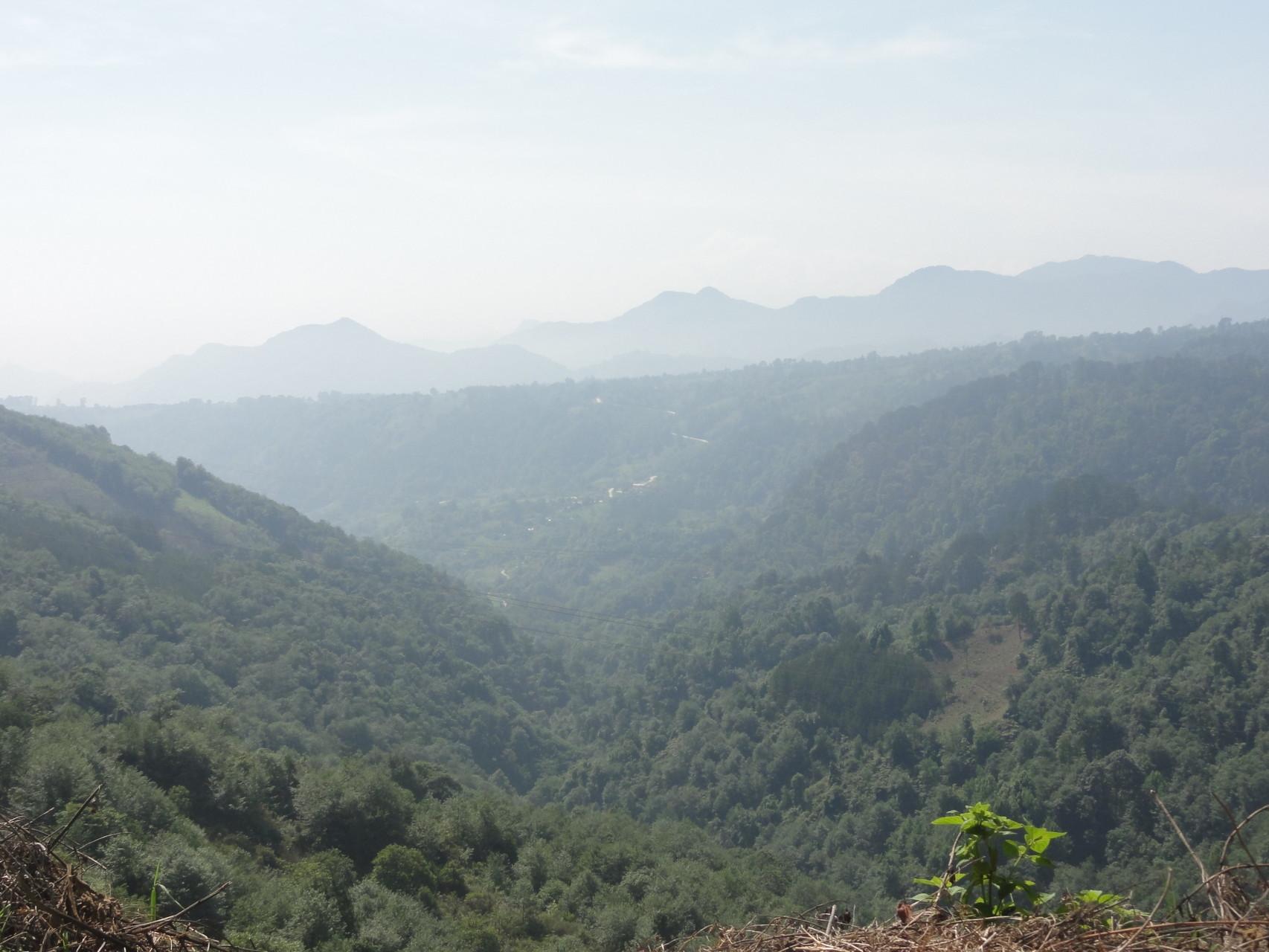 allá abajo está una de las zonas más virgenes y salvajes... San Lorenzo