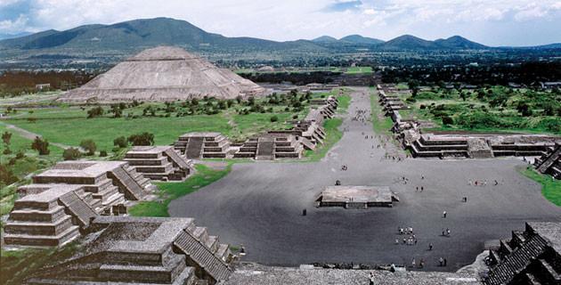 Teotihuacan, desde la pirámide de la Luna