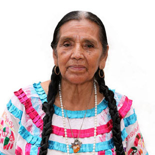 Abuela / Grandmother Julieta en Huautla de Jimenez