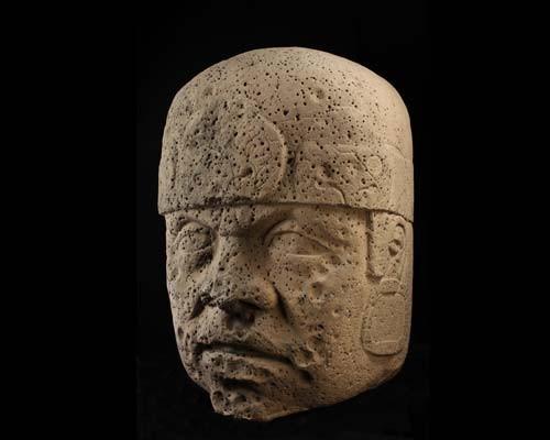 cabeza colosal de San Lorenzo, Museo de Antropología D.F.