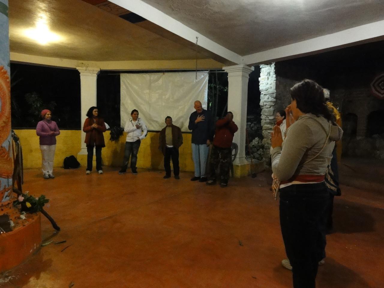 Don Lauro dedicated to us a special workshop / nos dedicó un taller especial ...