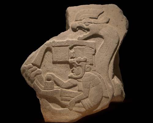 La venta, 1200-400 a.C., 92,5 x 81,2,  Museo de Antropología, D.F.