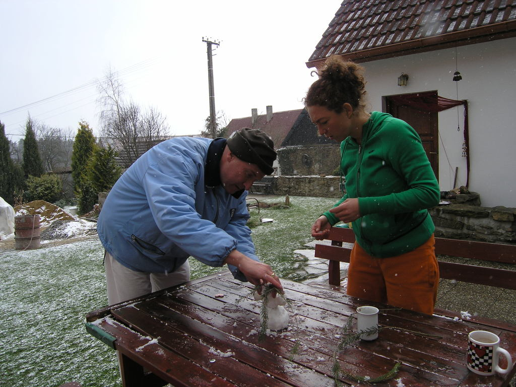 Babcice, Czech Republic, Easter-Retreat