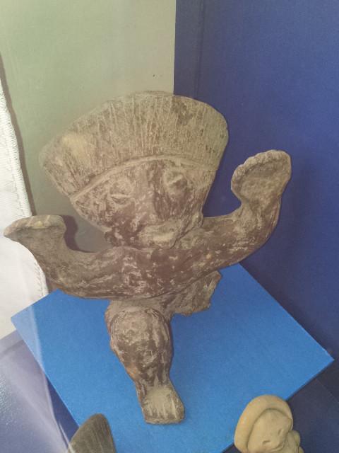 otras figuras de su museum en Acambario, Guanajuato