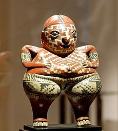 a beautiful figure of the Chupicuaro culture / una hermosa figura de la cultura Chupicuaro