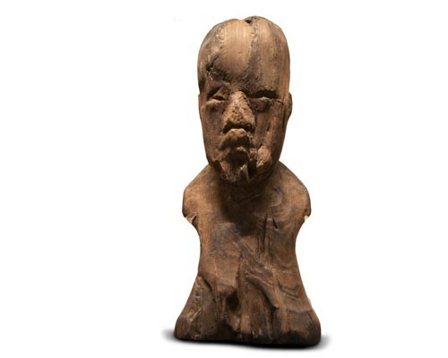 wooden figur of the Manatí, Museo Antropológico D.F.