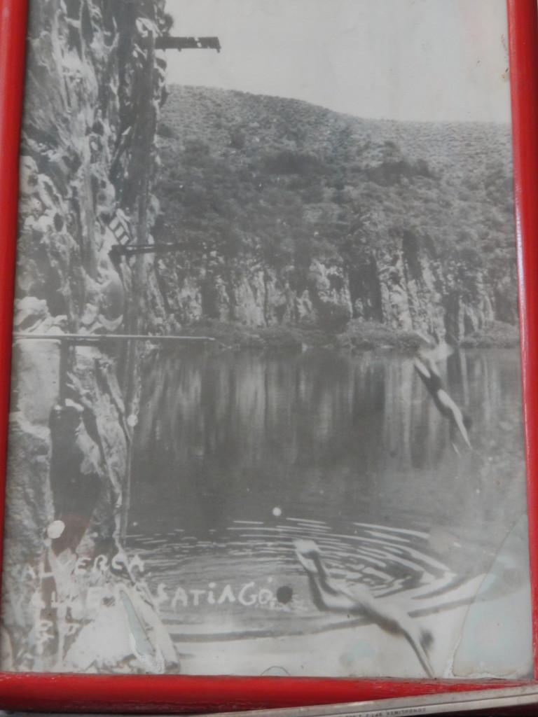 from the times when La Alberca still had water / de los tiempos cuando la Alberca todavía tenía agua ...
