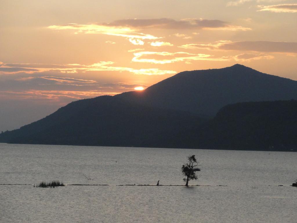 sunset at Lago Chapala, Jalisco