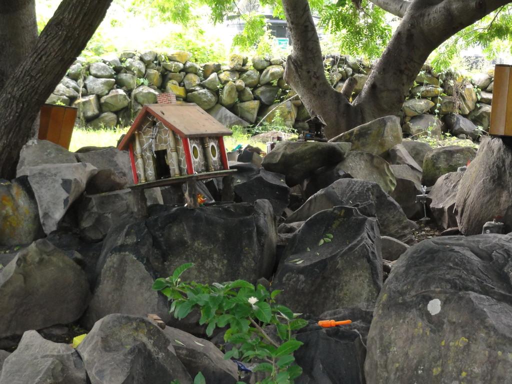 ... here enjoy a walk through the dwarf garden (jardín de los duendes)...