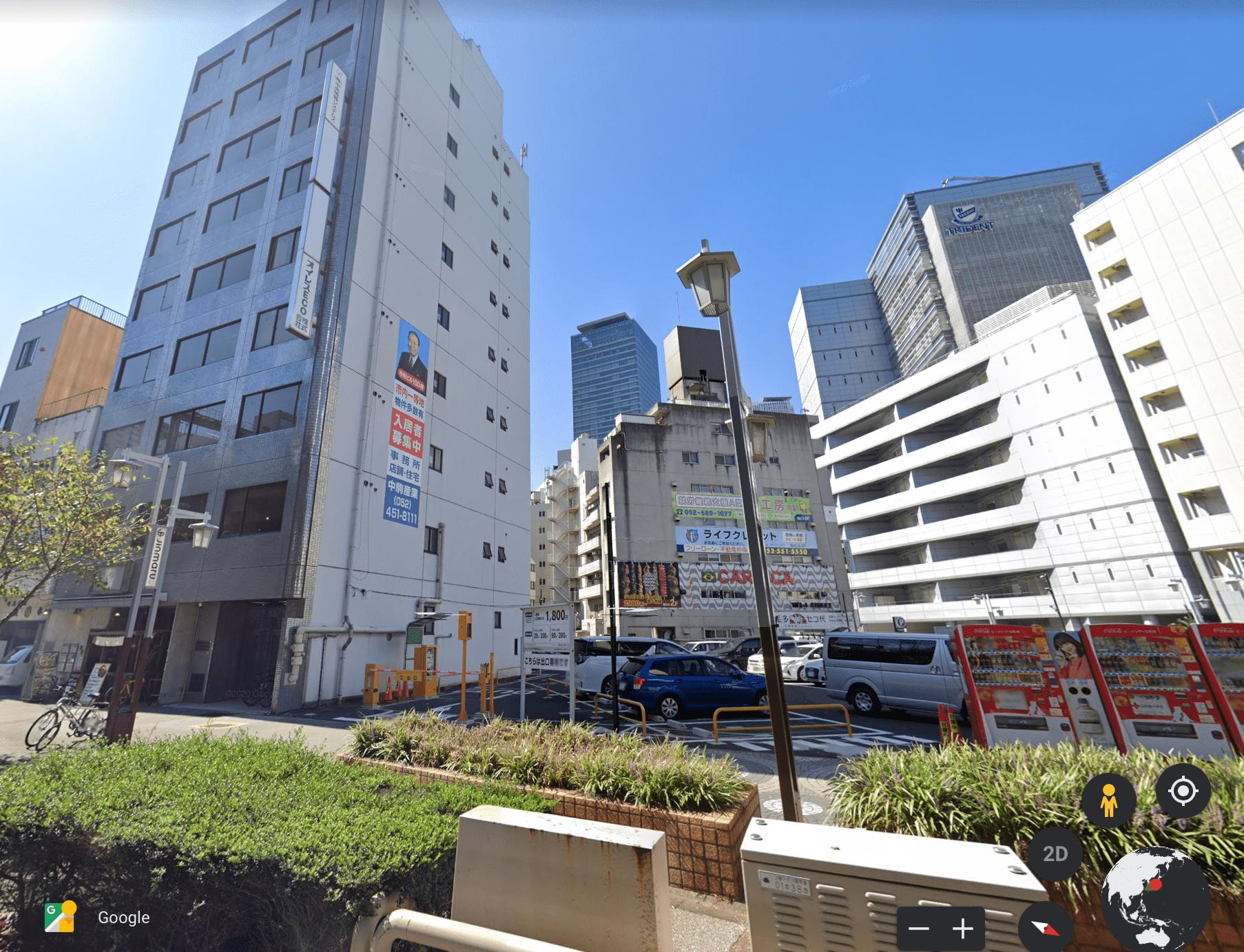 名古屋駅-ユニモール12番口-スグ近くに位置する英会話教室-えいごシャワーです