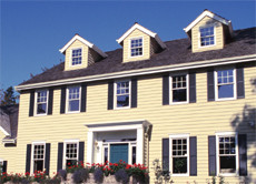 River Falls, Potomac - Painting of exterior trim, cement board siding, windows and shutters.