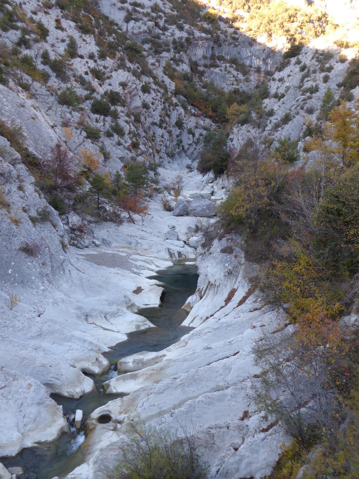 Canyon du Riolan (amont)