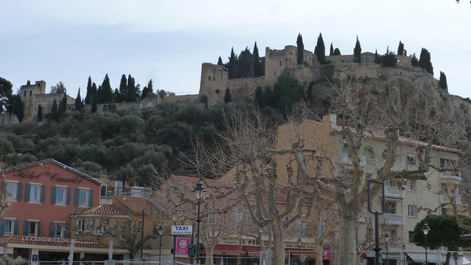 le château de Cassis ( hôtel )