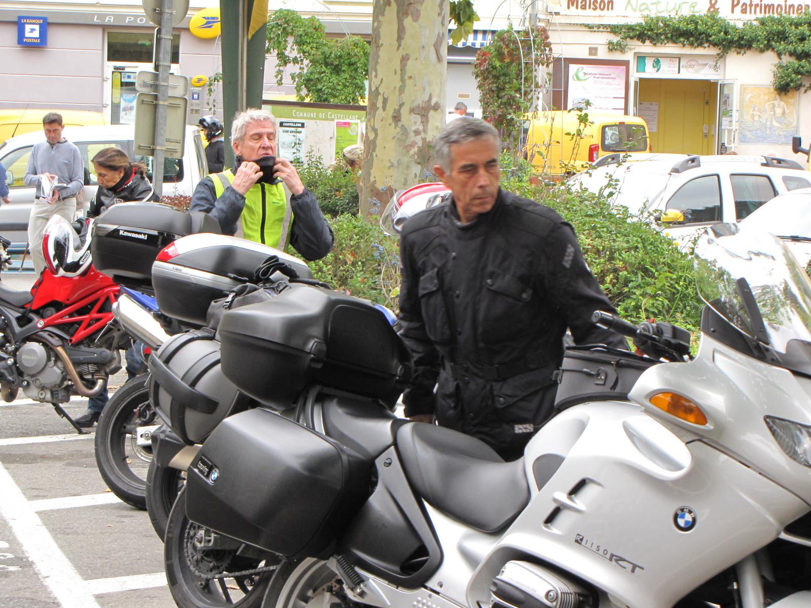 arrêt à Castellane