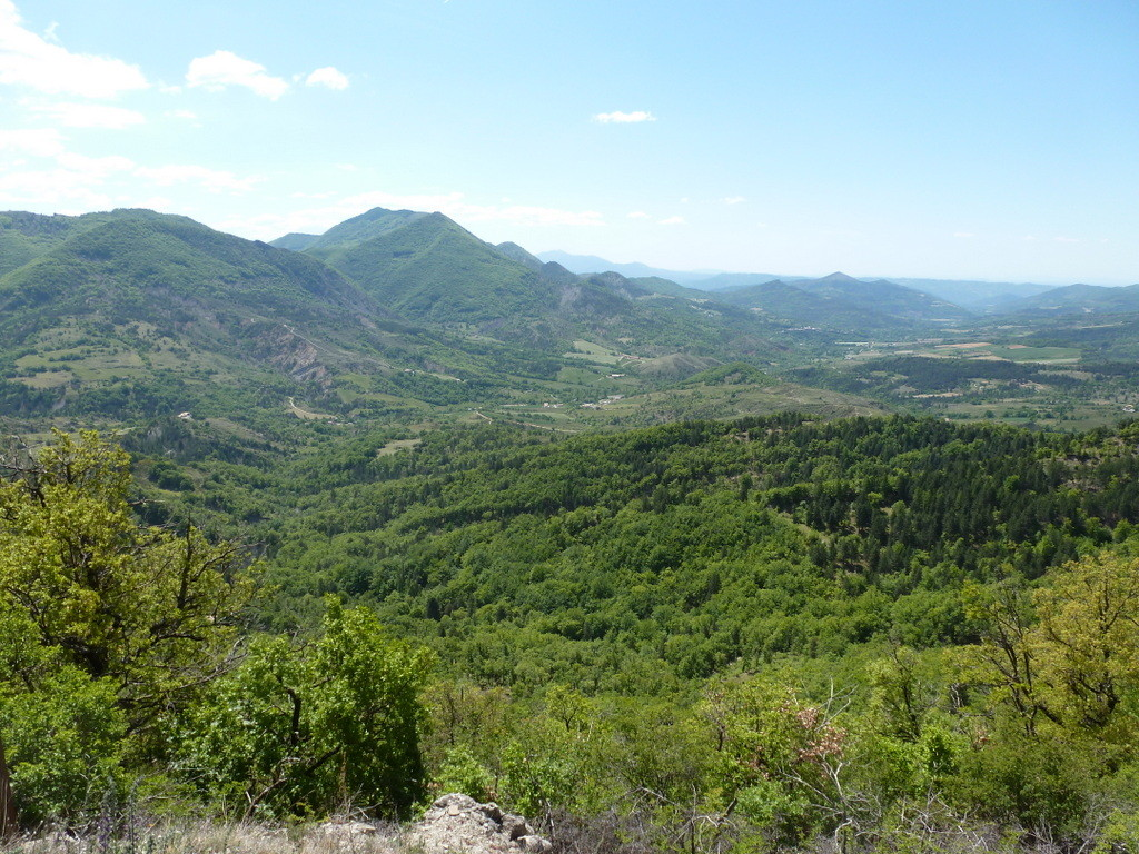 panorama du Col de l'Hysope