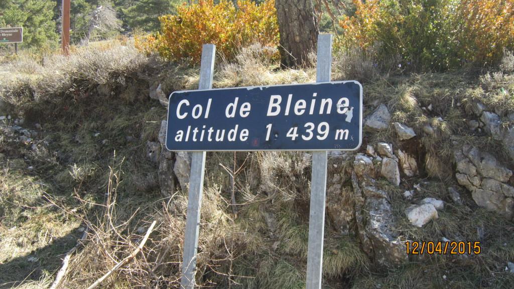 Col de Bleine