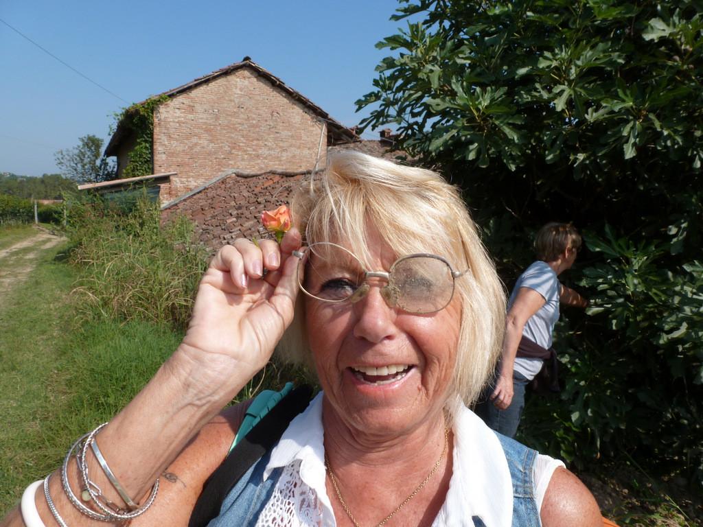 elle a retrouvé ses lunettes