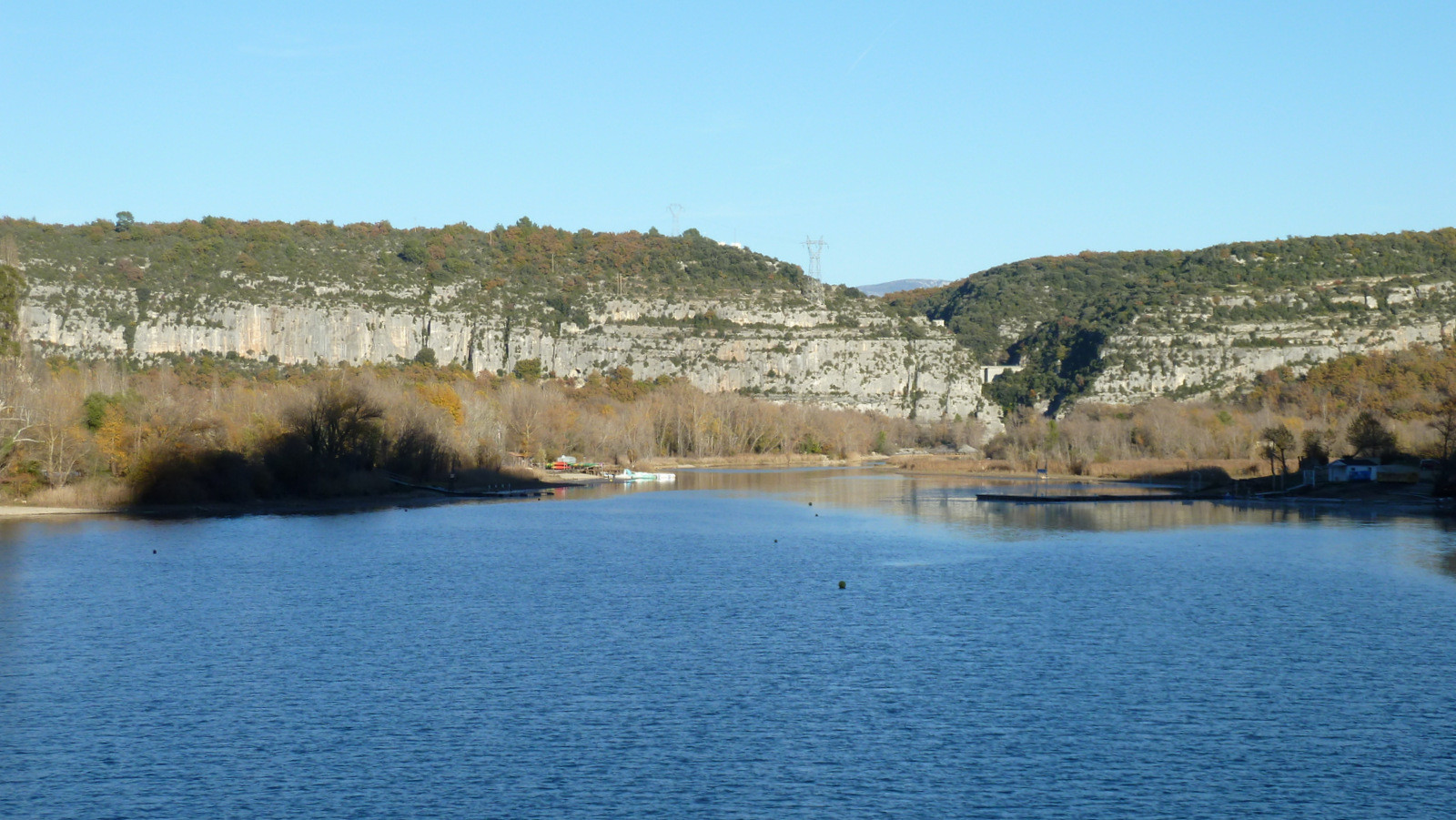 le lac de Quinson