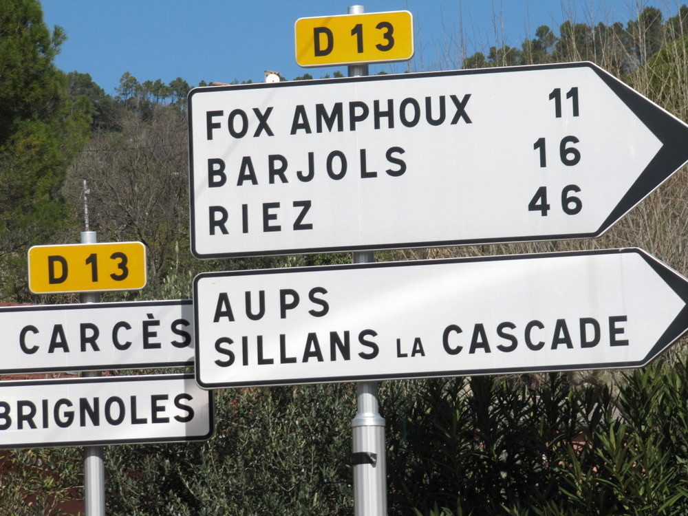 direction Barjols