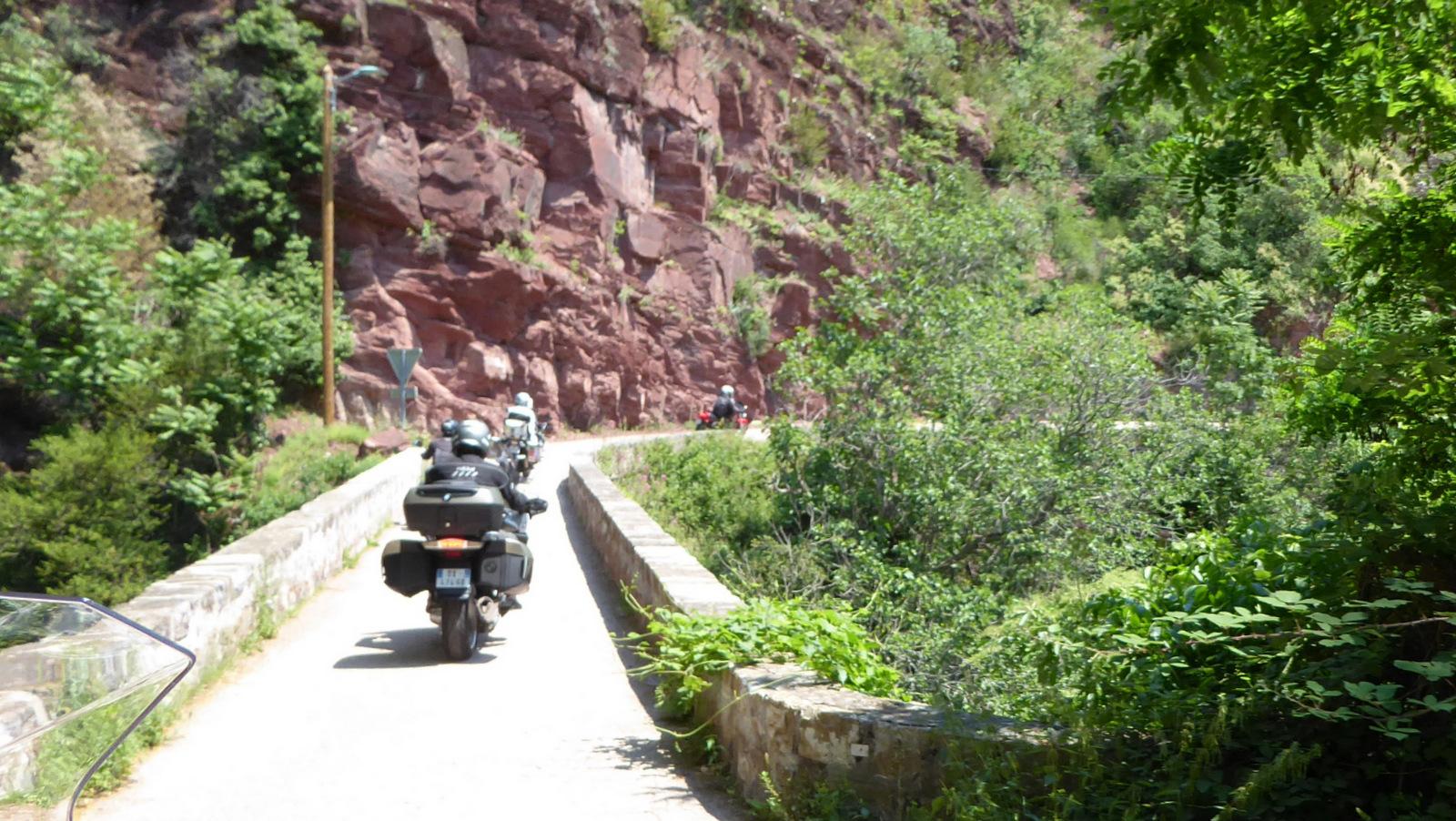 la petite route (D428) direction Pierlas