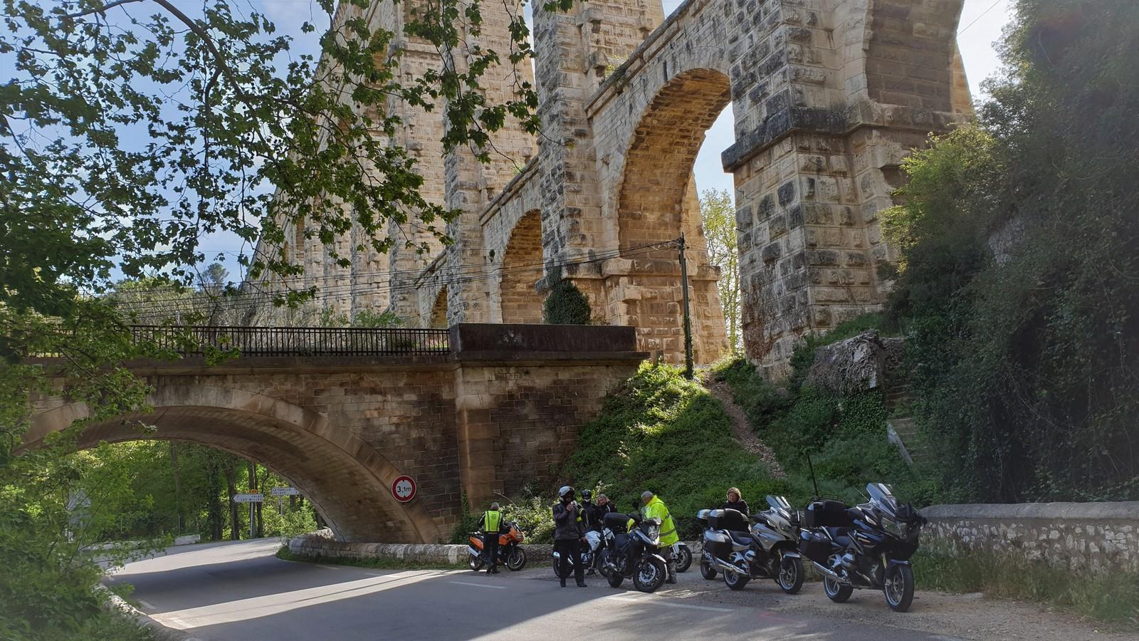 Groupe 2 : visite de l'aqueduc comme prévu dans le road-book