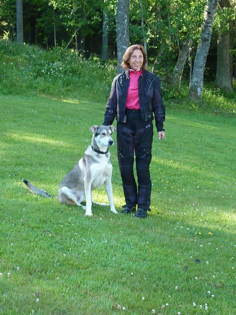 Max le chien - auberge de la Croix Perrin (Lans en Vercors)