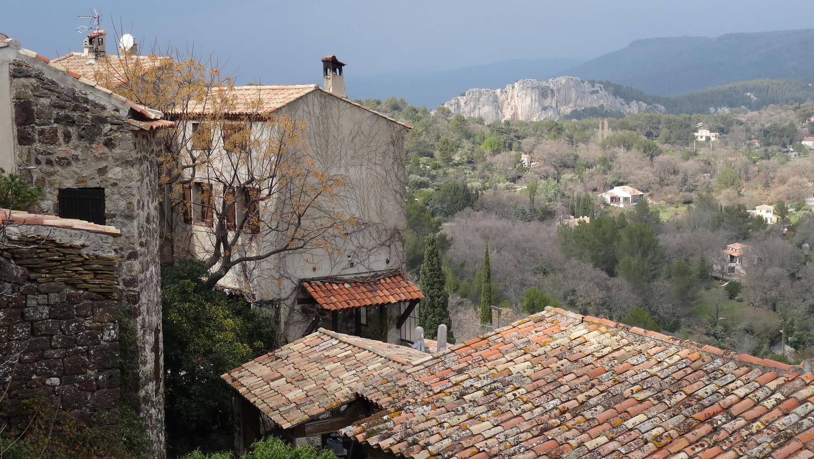 le vieux village d'Evenos