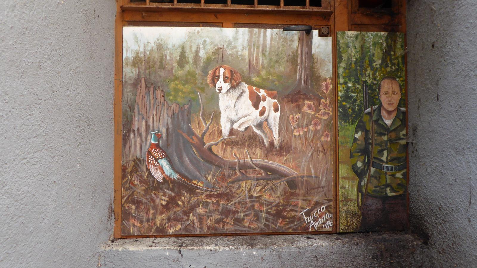 la chasse aux portes peintes ...