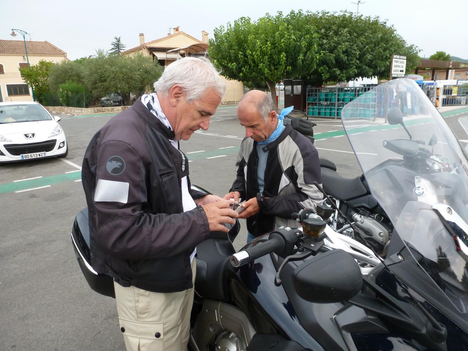 Georges et son GPS   ;-((