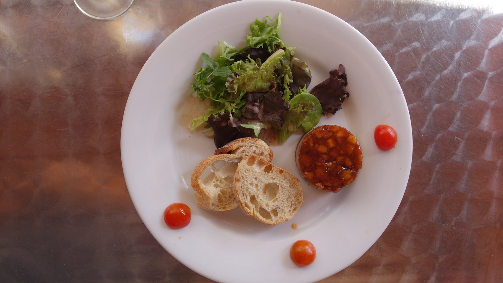 Tatin de foie gras et pommes caramélisées