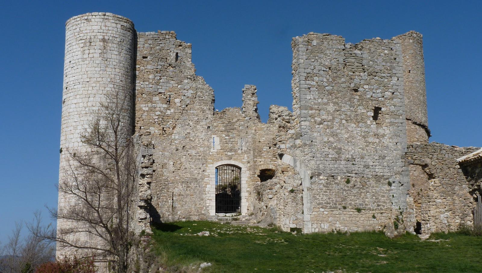 le château de Bargème