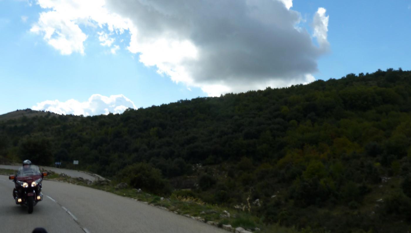 montée au col de Vence