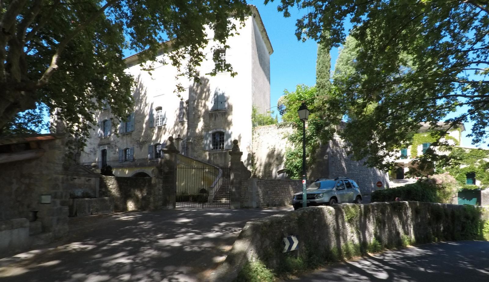 château seigneurial d'Esparron de Verdon