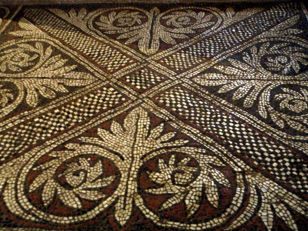 mosaïque de l'abside droite