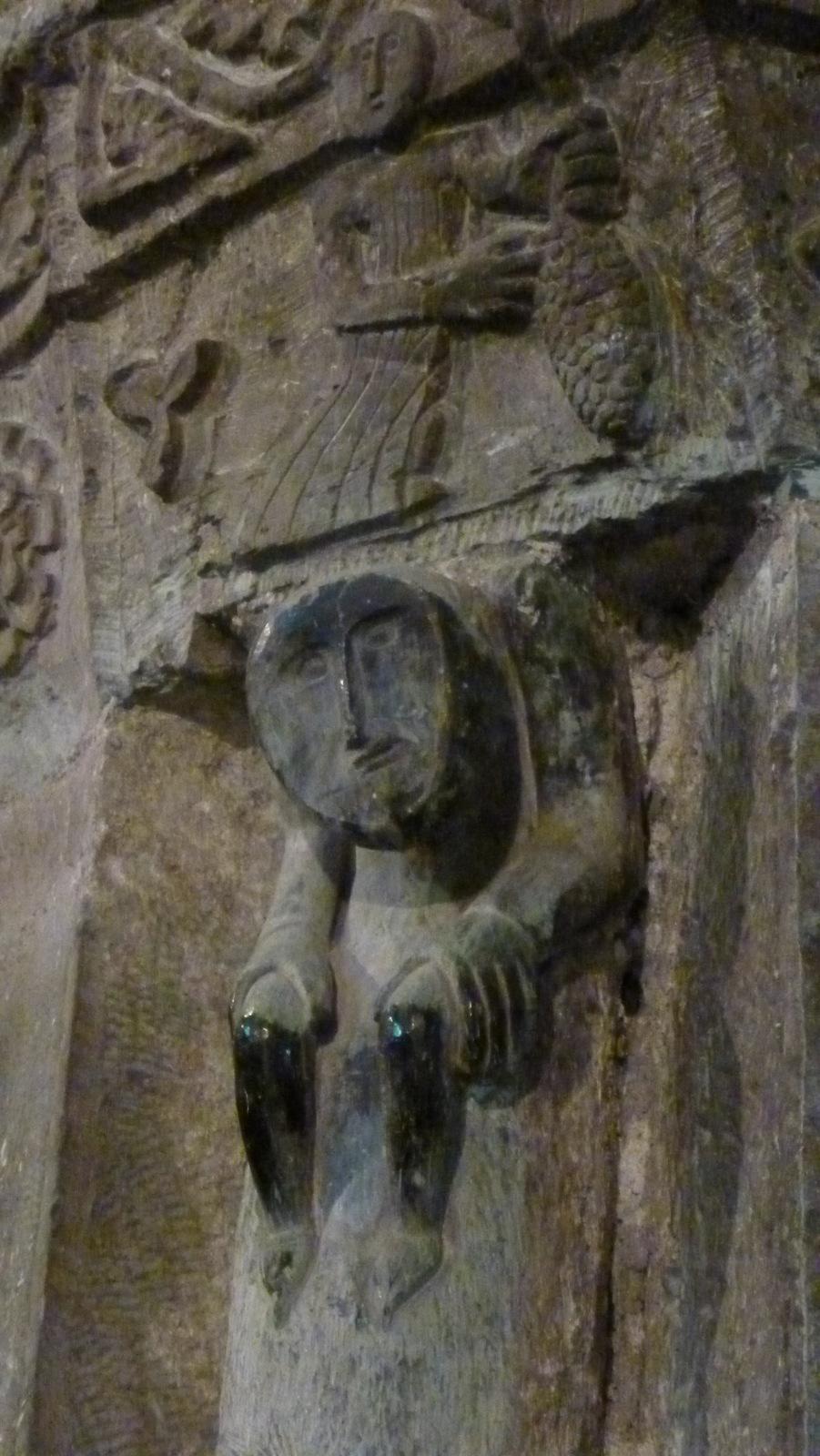 détail de sculture ...