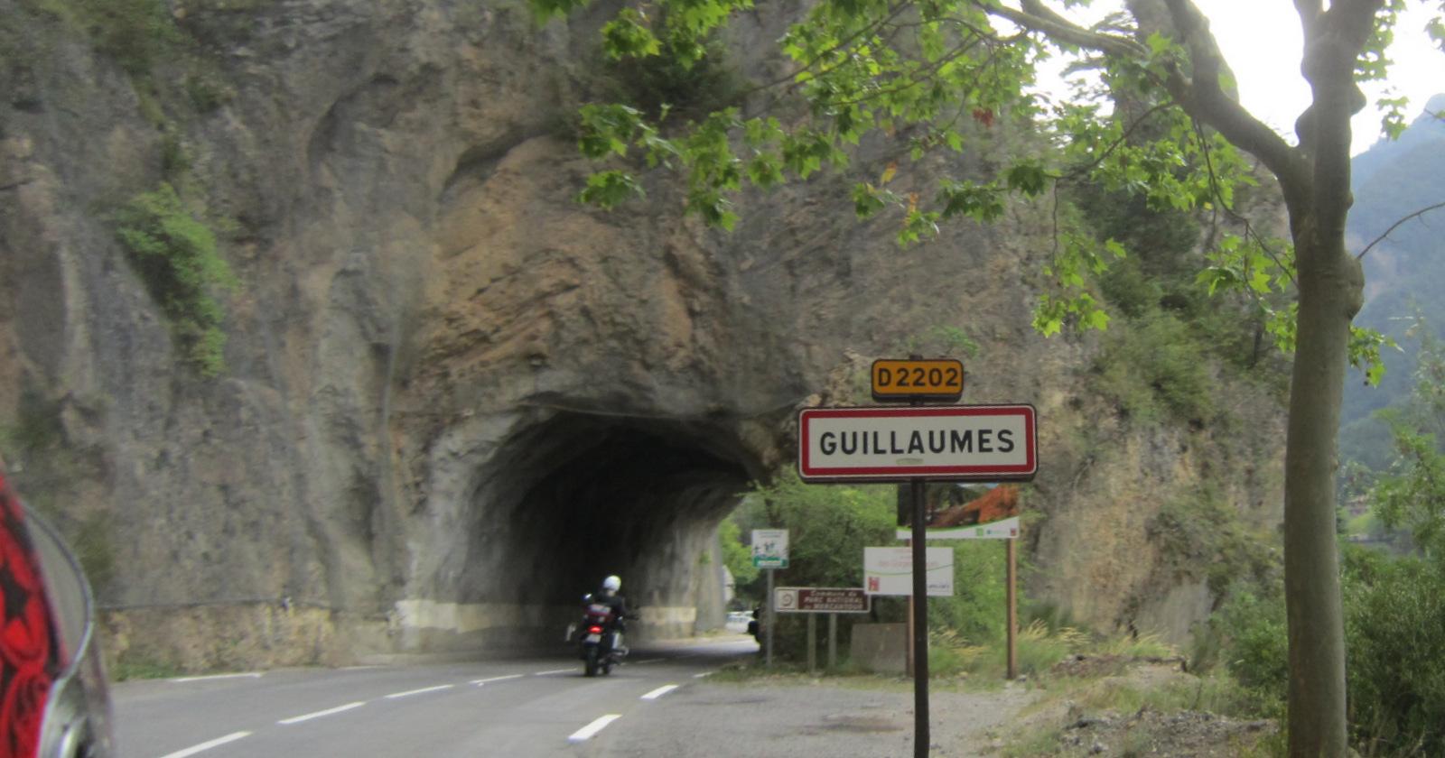 passage à Guillaumes ...