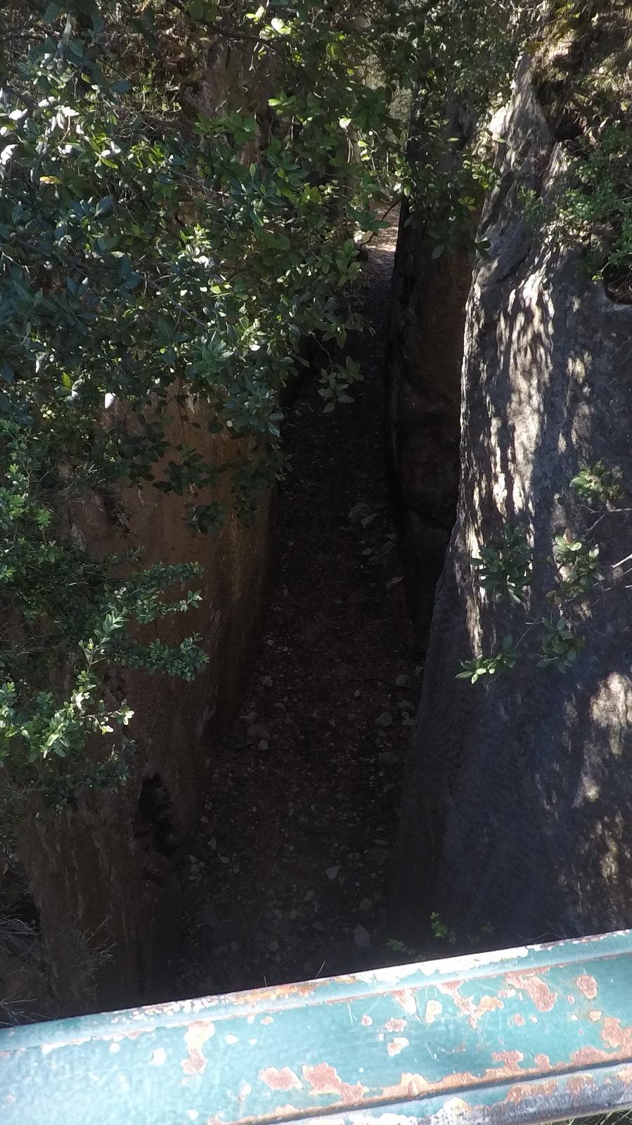 l'aqueduc romain vu du dessus ..