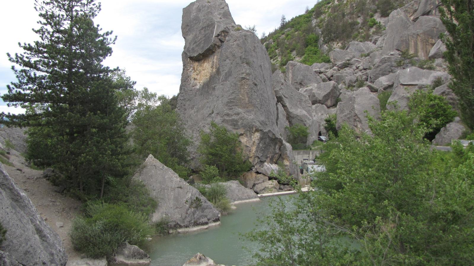 le saut de la Drôme