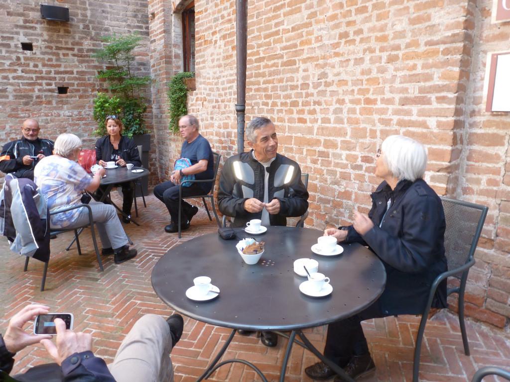 pause café au château