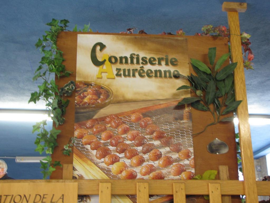 ... à la Confiserie Azuréenne