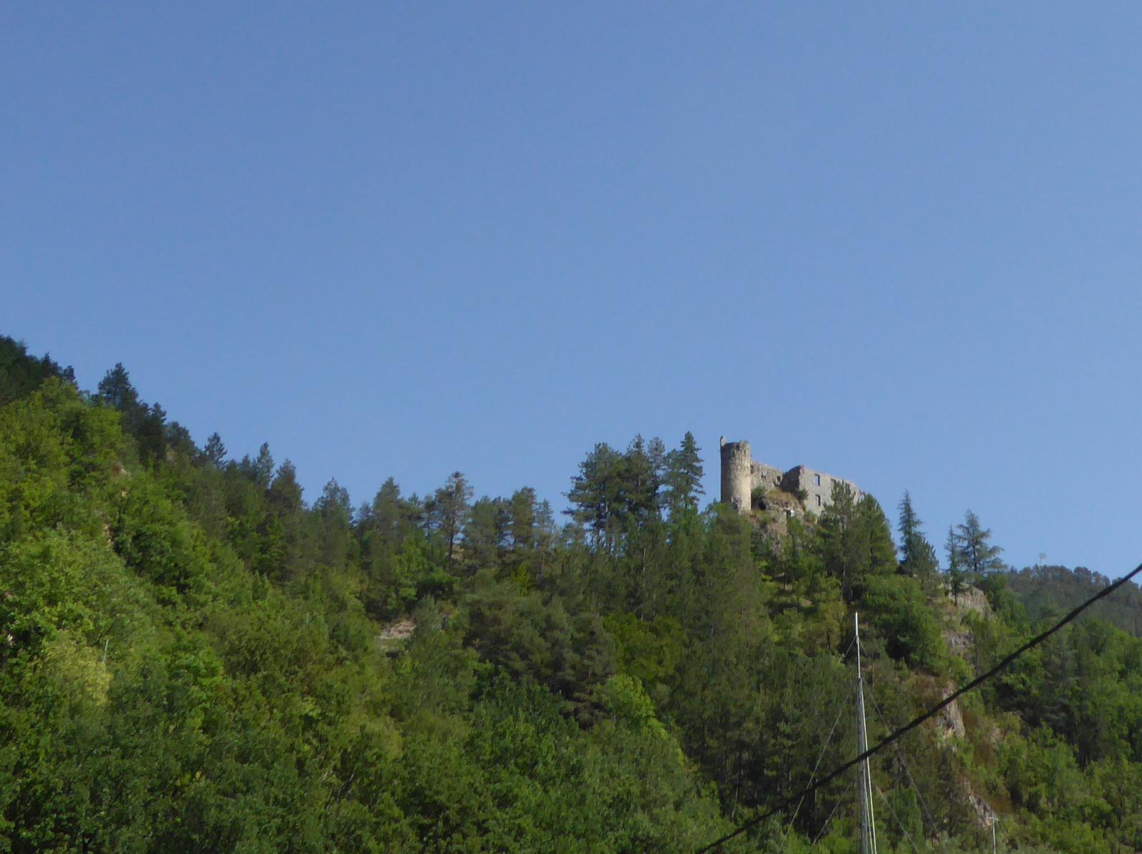 château de la reine Jeanne à Guillaumes
