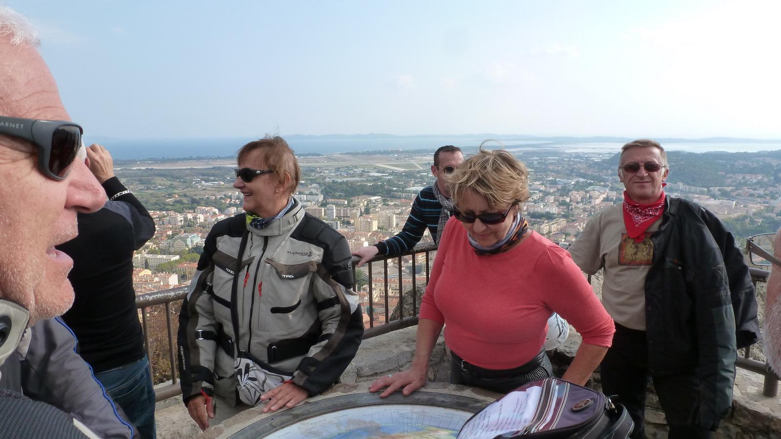avec vue sur les îles d'Hyères