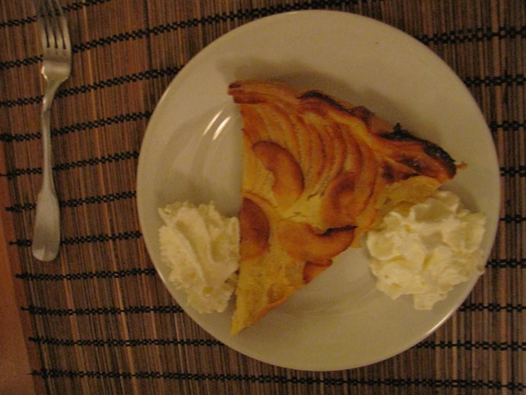le dessert ...