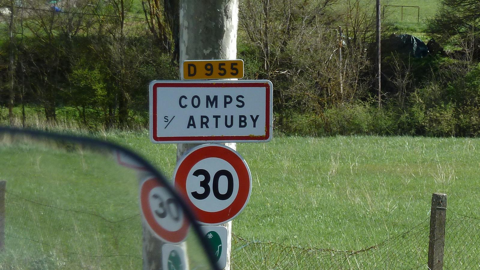 arrêt à Comps sur Artuby ...