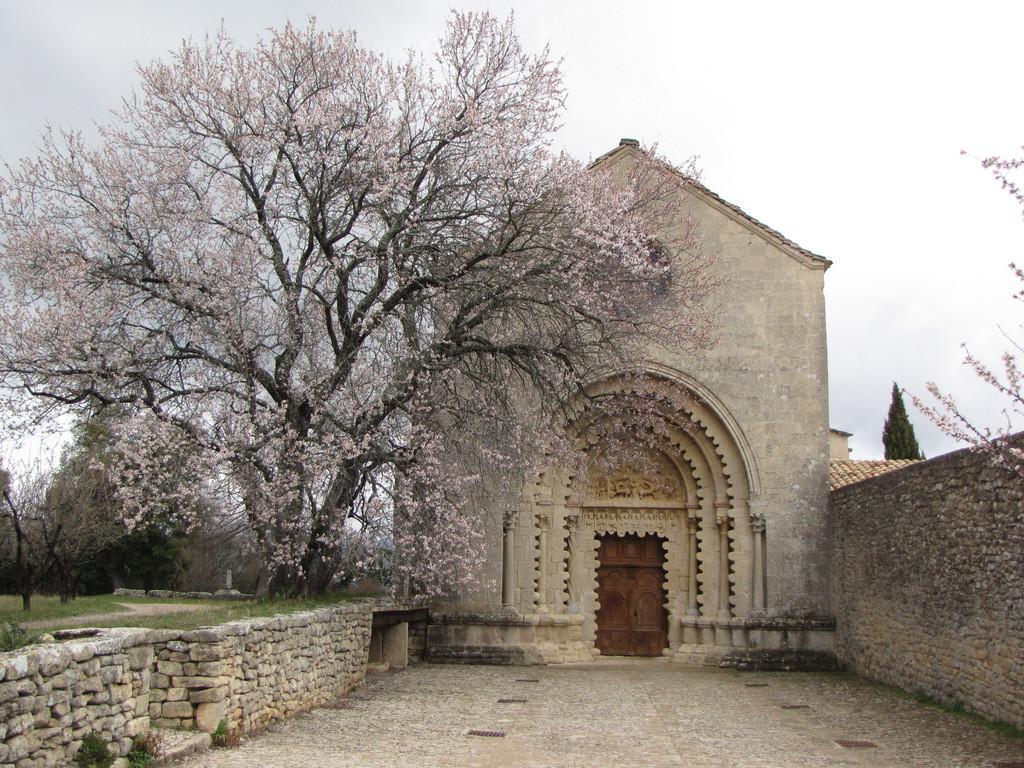 l'église Notre Dame de Ganagobie