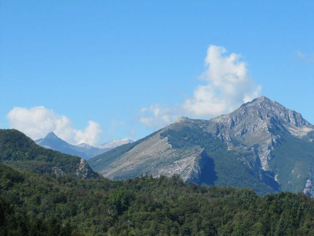 vue du col de San Bernardo