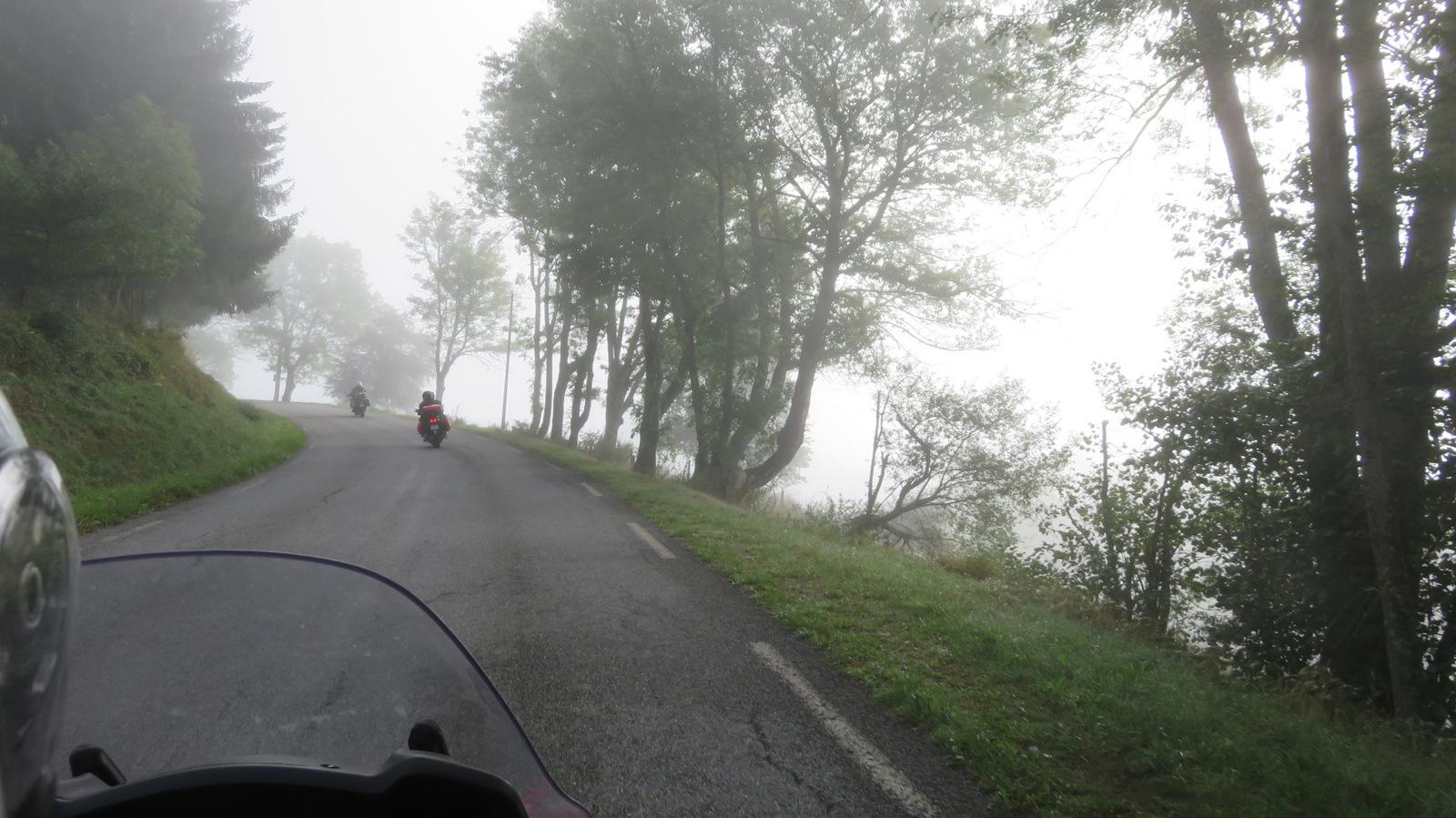 avec un peu de brouillard !