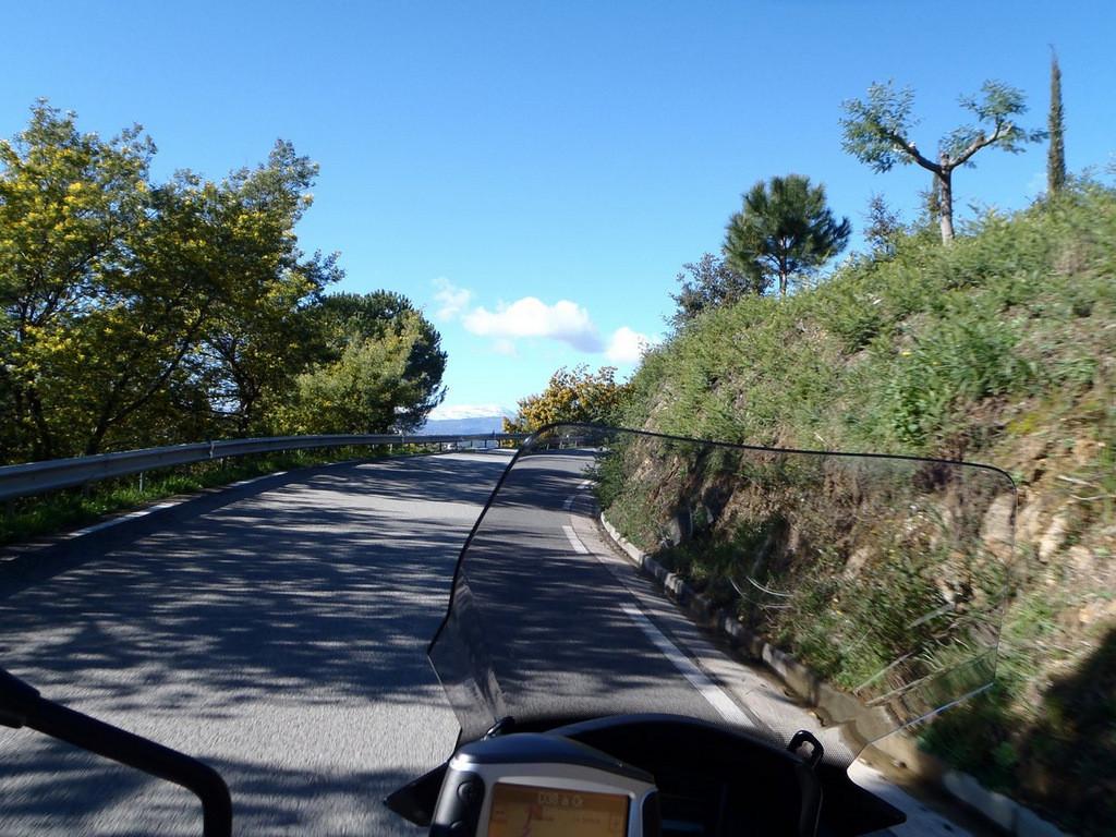 D38 (route du Tanneron)